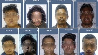 10 presuntos integrantes del CJNG son detenidos en Cancún