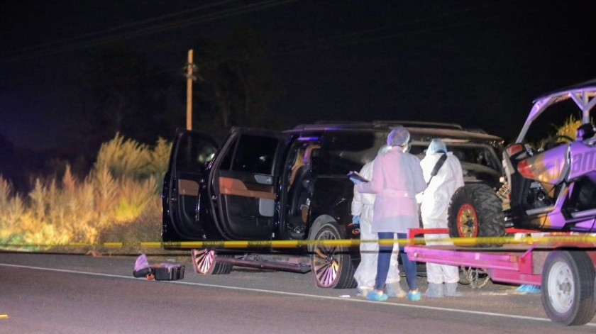 Ataque armado en la carretera a Bahía de Kino(Redacción GH)
