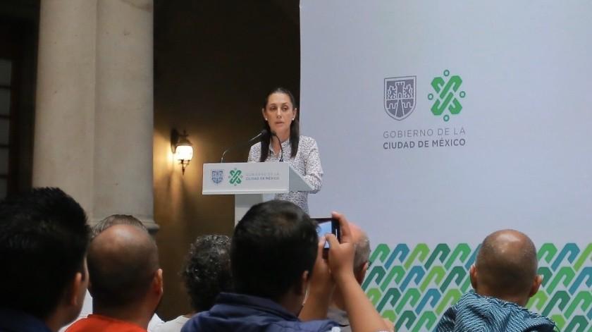 Claudia Sheinbaum(Agencia Reforma)