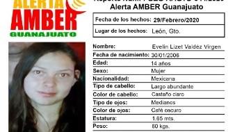 Evelin fue vista por última tras salir de su casa en León; piden ayuda para localizarla