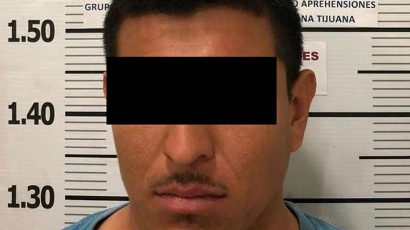 """El detenido está identificado como Jesús Beltrán """"N"""".(Cortesía)"""
