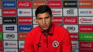 El defensa rojinegro, Jordan Silva, compareció ante las cámara de cara al enfrentamiento de Ida de las Semifinales de Copa MX contra el Deportivo Toluca, su ex equipo.