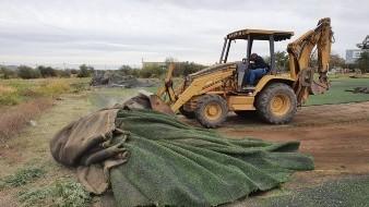Desmantelan campo deportivo; Ayuntamiento demandará