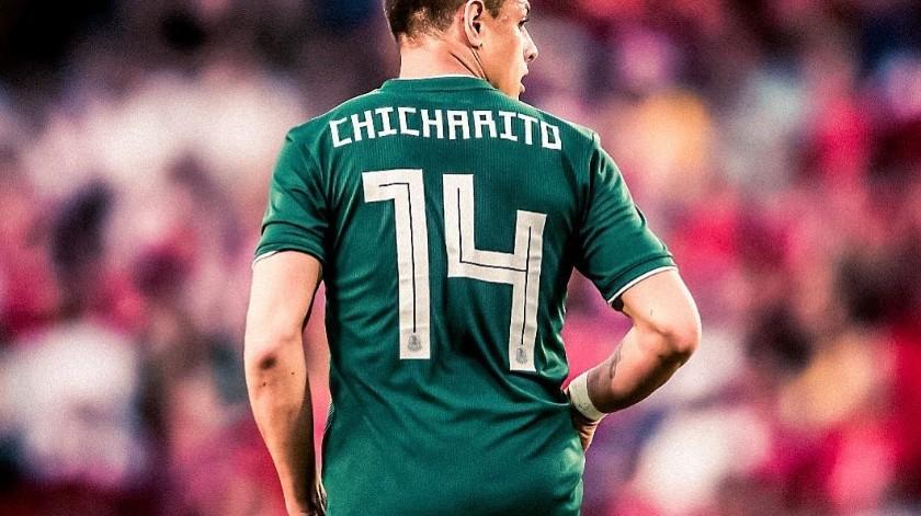 """Javier """"Chicharito"""" Hernández(Instagram)"""
