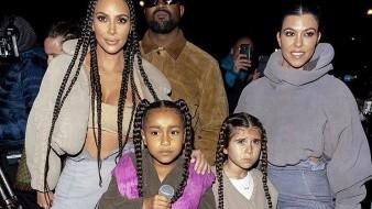 ¡Padre orgulloso! Hija de Kanye West rapea en la Semana de la Moda en París