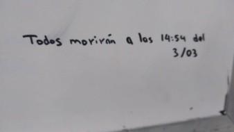 Por mensaje con amenaza de muerte, suspenden clases en CBTIS 11 de Hermosillo