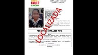 Madre simuló secuestro de menor reportada como desaparecida en Tlaxcala: PGJE