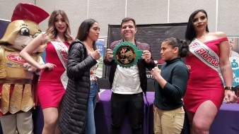 Presentan cartel de boxeo femenil