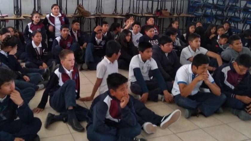 """Fomentan la denuncia de """"bullying"""" entre la comunidad estudiantil.(Cortesía)"""