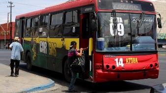 Van contra acoso en autobuses