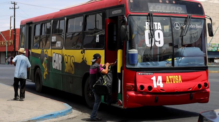Van contra acoso en autobuses(Víctor Medina)