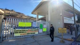 VIDEO: Bloquean puertas de CFE Nogales; piden eliminar tarifa DAC y altos cobros