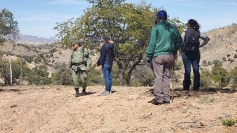 Madres Buscadoras de Sonora recorren zona Oeste de Nogales