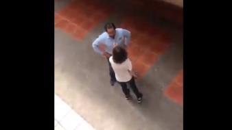 VIDEO: Alumna encara a profesor por acosar a estudiantes en Tamaulipas