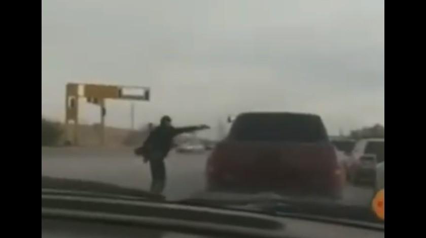 Madre entrega a su hijo sicario acusado de homicidio en Chihuahua(Captura de pantalla)