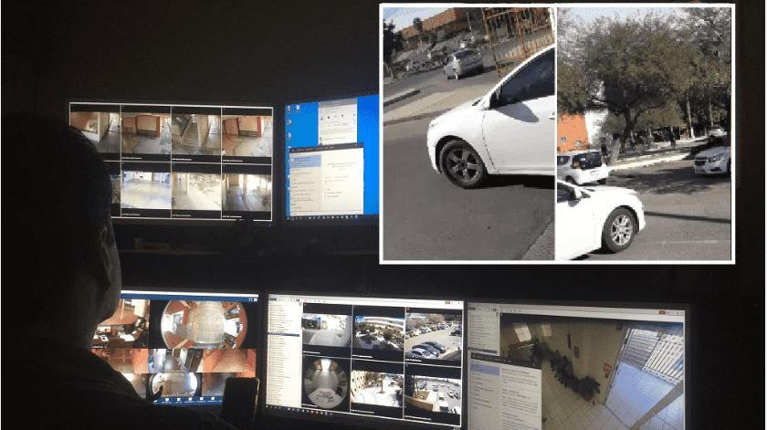 Revelan tomas de seguridad del robo de auto a jovencita en Unison(Leonor Hernández)
