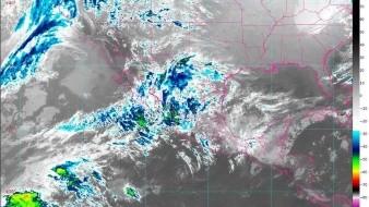 Prevén fuertes lluvias en Golfo y Sur del país y que se extienda Frente Frío