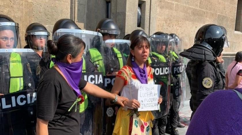Aileen perdió a su prima hace 16 años, cuando regresaba de la secundaria, en una comunidad indígena de Cuetzalan, Puebla.(El Universal)