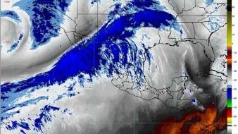 El río atmosférico mantendrá fuerte arrastre de humedad sobre los estados fronterizos de México.