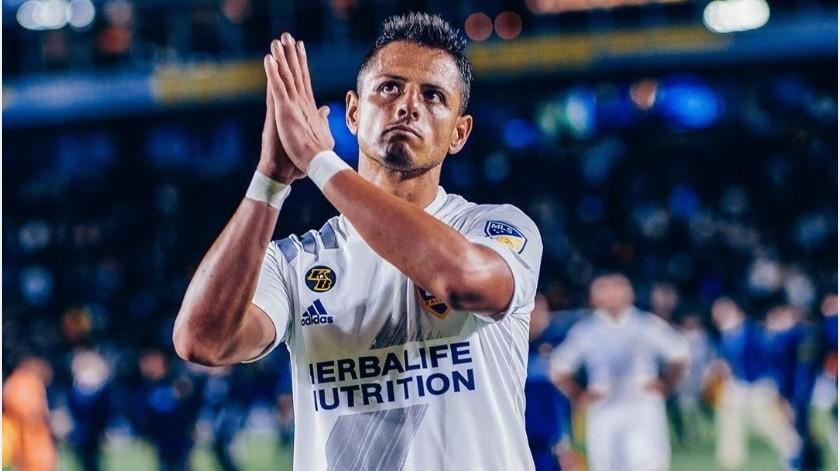 """""""Chicharito"""" Hernández, el mal querido de afición de Galaxy(Instagram @ch14_)"""