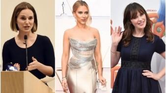 Estrellas de Hollywood conmemoran el Día de la Mujer