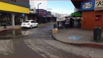 Poca afluencia de personas en el Centro de la ciudad en medio de paro de mujeres
