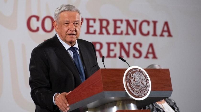 López Obrador aseguró que los mexicanos tendrán la posibilidad de decidir si continúa o no en el cargo en 2022.