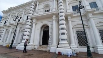 Humberto Castro, empleado de Palacio de Gobierno, dijo que sus compañeras no fueron a laborar y eso es algo que se nota mucho.