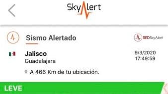 Reportan Sismo de magnitud 3.9 en Guadalajara