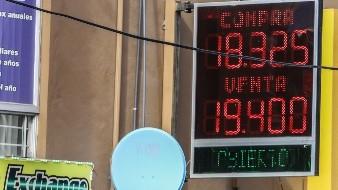 Llega el dólar a 19.40 en casas de cambio de Tijuana