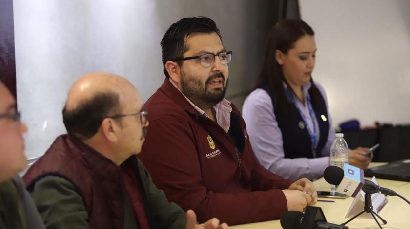 En conferencia de prensa se dieron a conocer los detalles de la nueva línea de WhatsApp.(Gustavo Suárez)