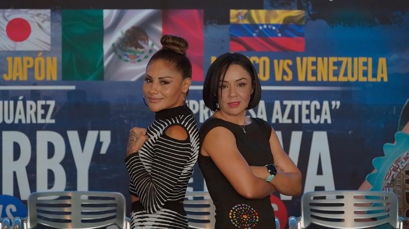 """Jackie Nava pacta combate con """"La Barby"""" Juárez"""
