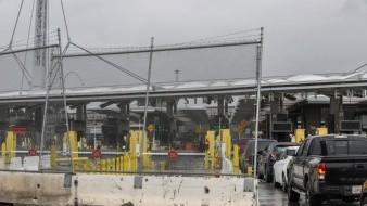 El mediodía de ayer se realizó un simulacro y se cerraron varios carriles en San Ysidro.