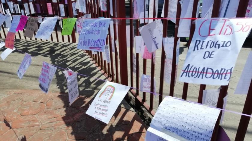 La protesta fue realizada de manera pacífica.(José Ibarra)