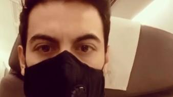 Carlos Rivera tuvo que regresar a México por el coronavirus.