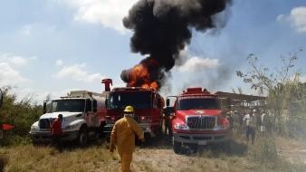 Reportan explosión en bodega de huachicol en Tabasco