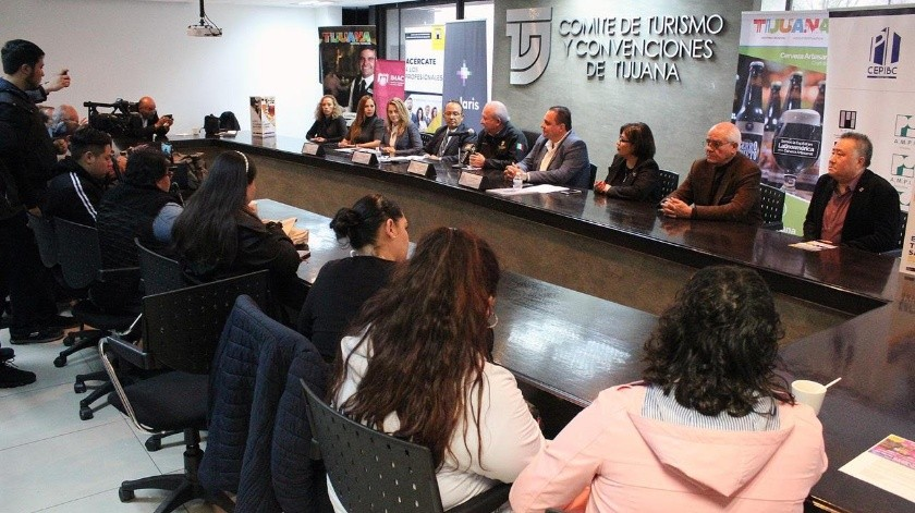 Conferencia de prensa de Cotuco.