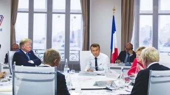 45.ª Cumbre del G7 celebrada en Biarritz, Francia, entre el 24 y 26 de agosto de 2019, presidida por Emmanuel Macron