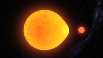 Estrella en forma de gota sorprende a científicos