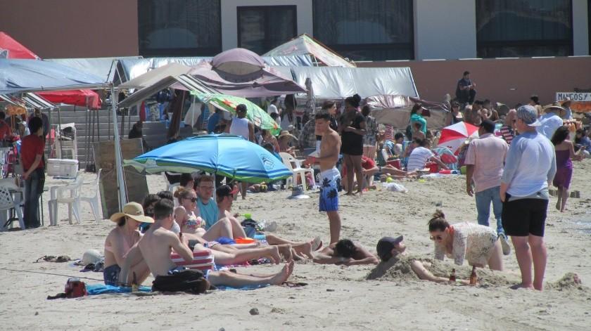 """Los hoteles de Puerto Peñasco registran """"casa llena"""" para el """"Spring Break"""".(Banco Digital)"""