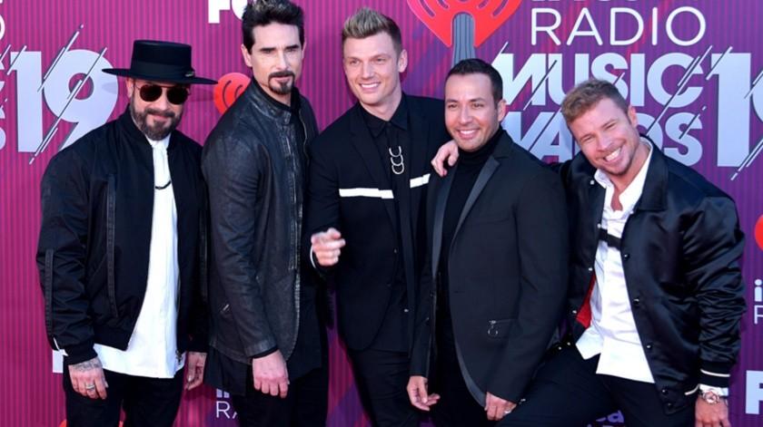 Backstreet Boys se presentaría este domingo en Brasil.(Tomada de la red)