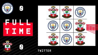 Southampton y Manchester City se enfrentaron a partida de
