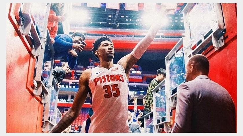Christian Wood, tercer caso de coronavirus en la NBA(Instagram @chriswood_5)