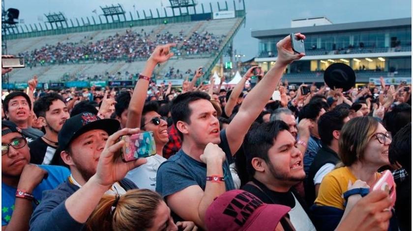 Otros eventos masivos sí se pospusieron, como el festival Pa'l Norte de Monterrey, en el norteño estado de Nuevo León, programado para el 20 y 21 de marzo(EFE)