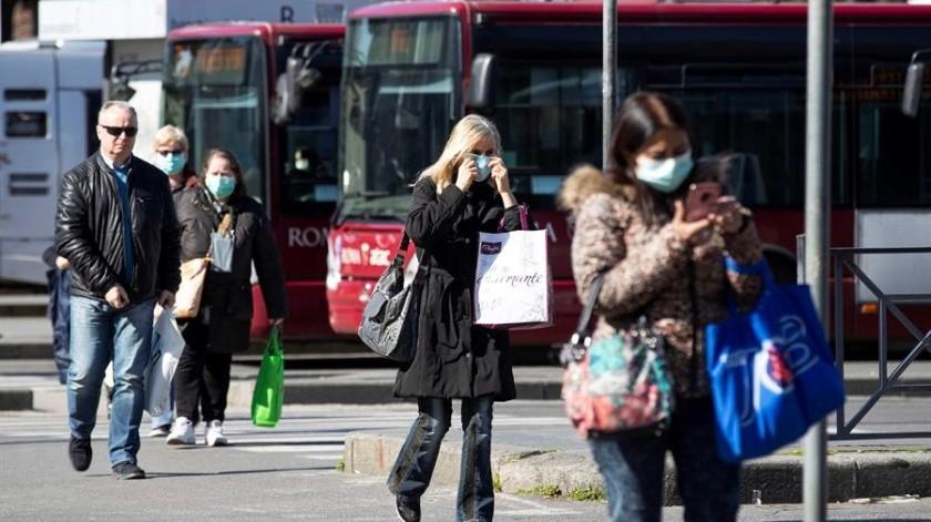 Se eleva a mil 809 la cifra de muertes por coronavirus en Italia(EFE)