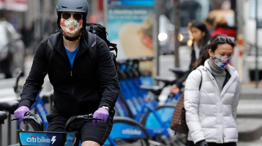 Nueva York se convierte en el foco principal de coronavirus en EU(EFE)