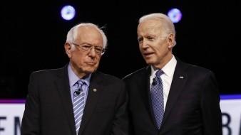 Biden y Sanders protagonizarán su primer debate electoral en EU