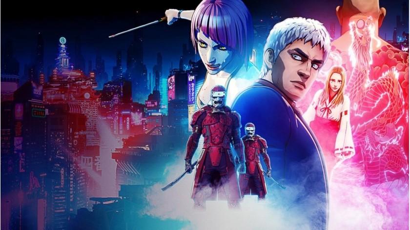 Anime, Netflix, Cyber-punk