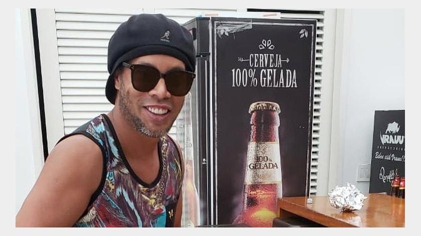 1 millón y medio de dólares ofreció Ronaldinho para salir libre de prisión(Instagram @ronaldinho)