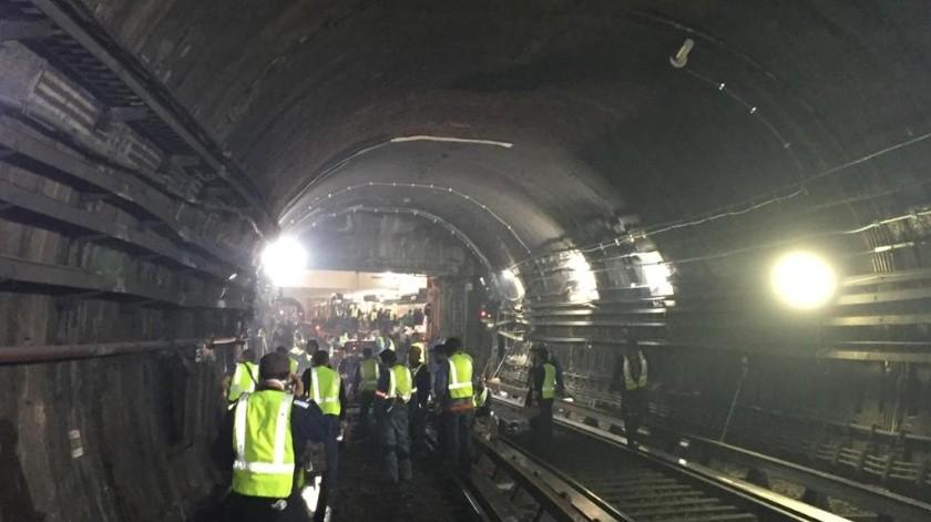 El día de mañana se realizarán las pruebas necesarias que garanticen la seguridad y funcionamiento del servicio, para reanudar la operación el martes 17 de marzo(Cuenta Oficial del STC Metro de la Ciudad de México @MetroCDMX)